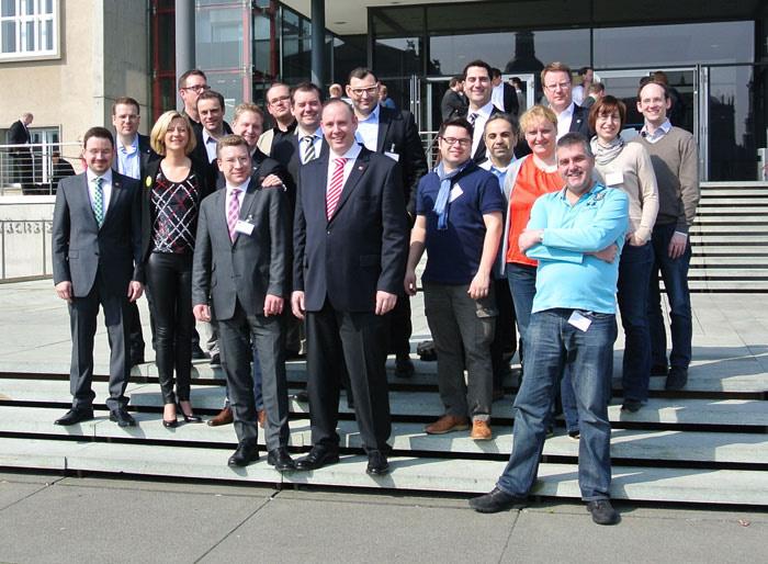 Frühjahrsdelegiertenversammlung in Dresden