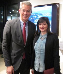 Katalin Birta von WJ Hessen im Interview mit Dr. Stefan Schulte